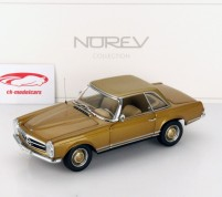 MERCEDES-BENZ 230 SL PAGODA 1963 GOLD Scale 1/18 by Norev