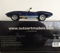 CHEVROLET CORVETTE MAKO SHARK 1961 Scale 1/18 by Autoart