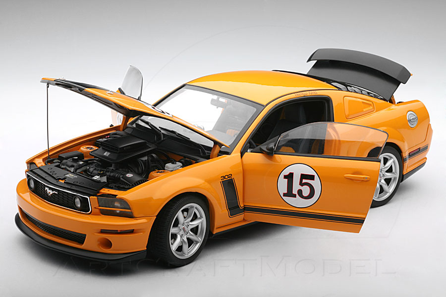 PARNELLI JONES SALEEN MUSTANG #15 – ORANGE  (6)