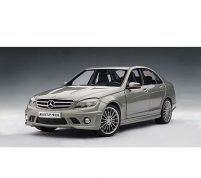 MERCEDES-BENZ C63 AMG – GREY Scale 1/18 By Autoart