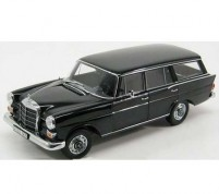 Mercedes-Benz 200 UNIVERSAL black 1968 Scale 1/18 by Norev