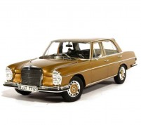 Mercedes 280 SE (W108), gold, 1968 Scale 1/18 by Norev