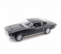 ford mustang fastback 2+2 1968 black Scale:1/18 By Green Light