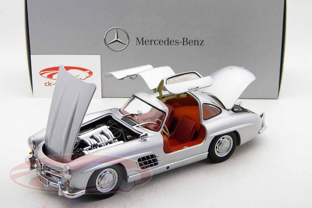 MERCEDES BENZ 300 GULLWING MINICHAMPS (5)