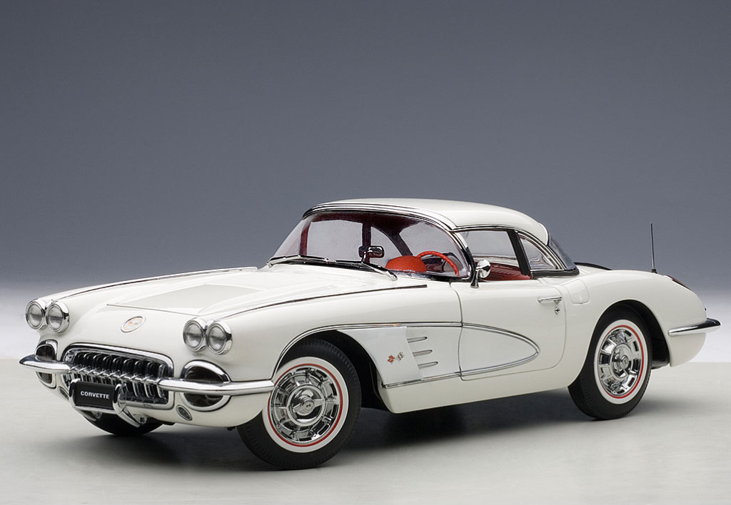 Chevrolet Corvette 1958 By Autoart (5)