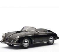 porsche 356 spider 1968 black by autoart