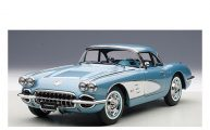 CHEVROLET CORVETTE 1958 (SILVER BLUE)