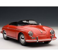 PORSCHE 356A SPEEDSTER red by autoart