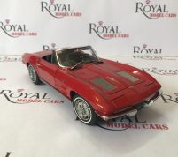 CHEVROLET CORVETTE 1963 Convertible by Autoart scale 1.18 diecast
