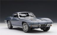 CHEVROLET CORVETTE 1963 COUPE by Autoart scale 1.18 diecast