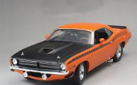 plymouth barracuda 1970 by acme scale 1.18