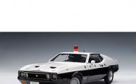 FORD MUSTANG MACH I JAPANESE POLICE Scale:1/18 by Autoart