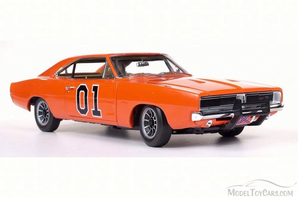 AMM964-6-R2-ORANGE-1969-Dodge-General-Lee-Charger-118-3-az-det